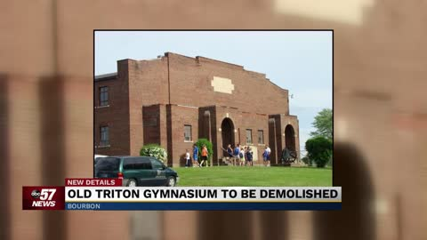School Board members approve demolition of historic gymnasium in Bourbon