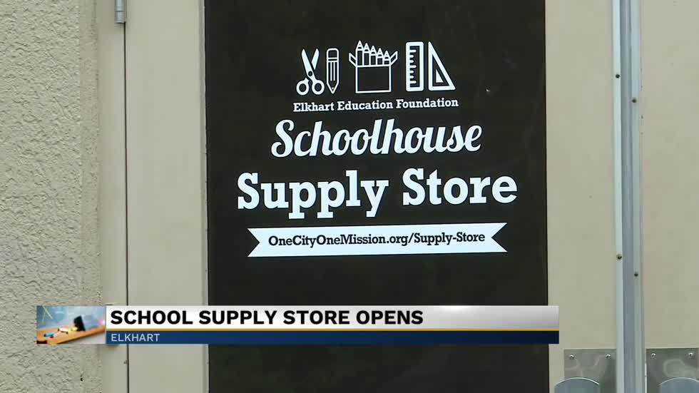 Schoolhouse Supplies Store opens in Elkhart