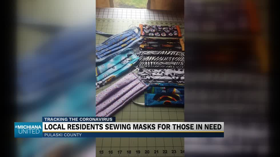 Scrappy Sewers making, donating masks