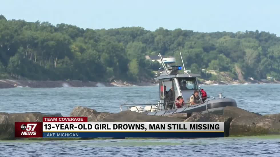 Swimmer still missing from New Buffalo City Beach