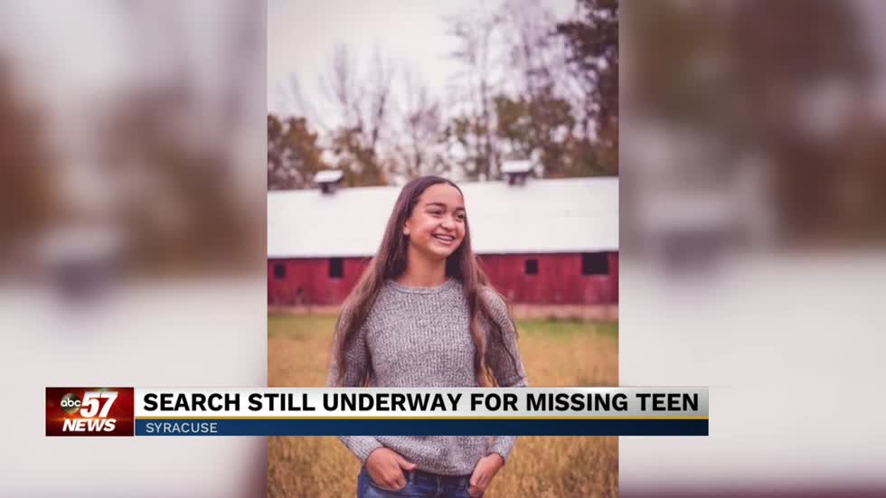 Search still underway for missing teen