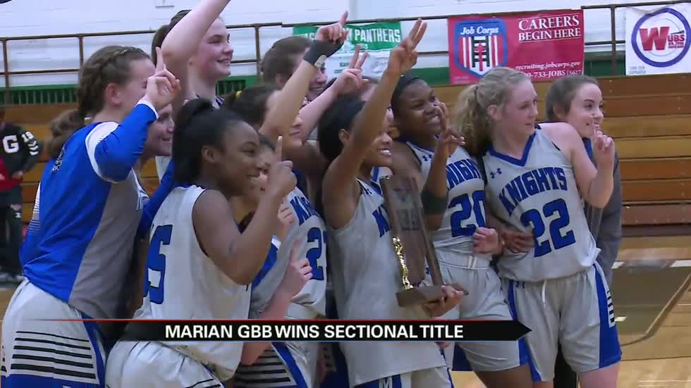 Sectional champs crowned in girls basketball