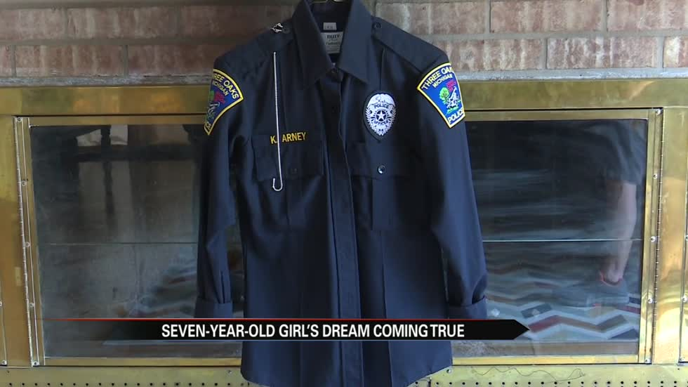 Seven-year-old Berrien County girl's dream comes true
