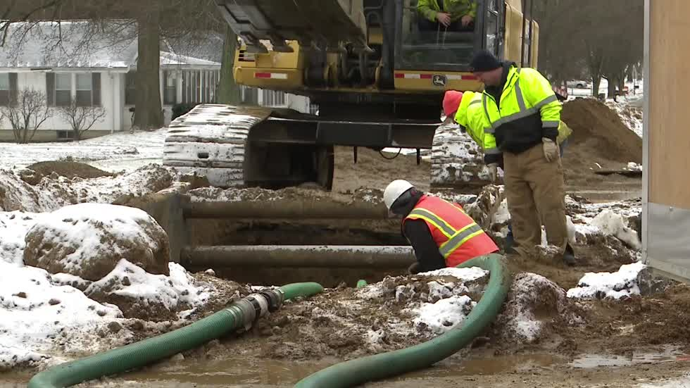 Sewer main collapse causes repair headache in Buchanan
