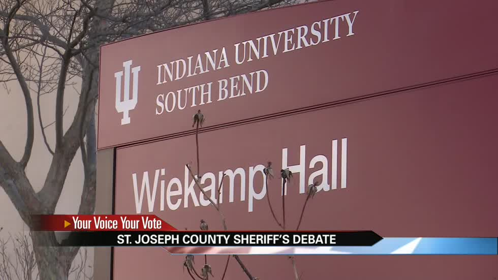 Candidates to debate for St. Joseph County Sheriff