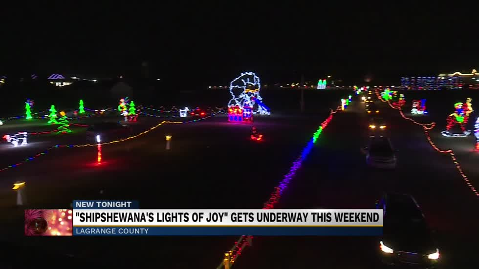 Shipshewana's 'Lights of Joy' seeing record turnout in...