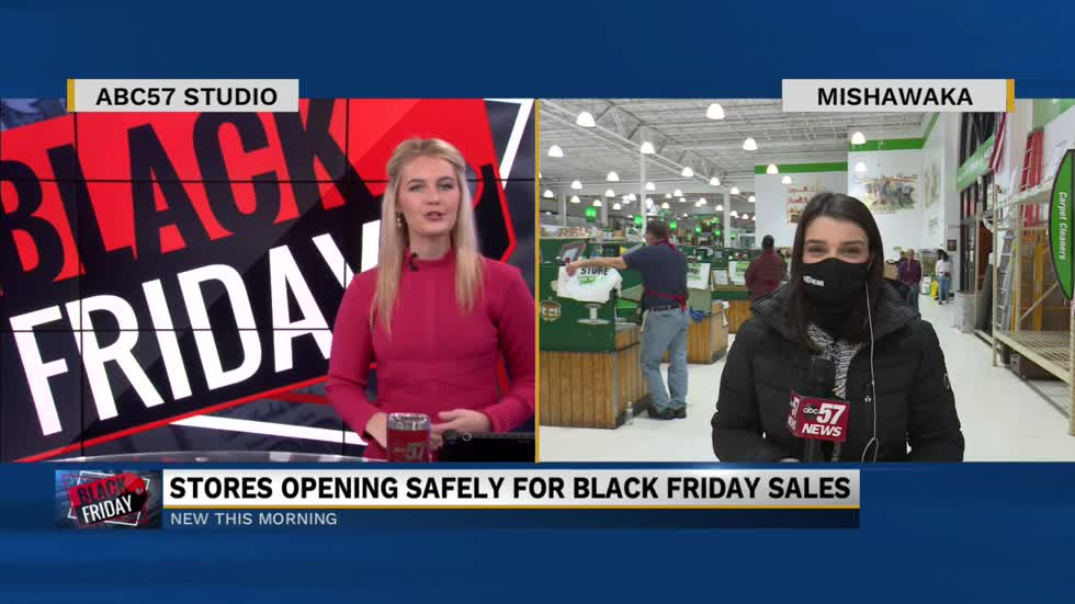 Black Friday shopping in a pandemic