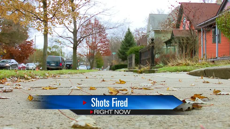 Shots scare neighbors in South Bend Sunday night