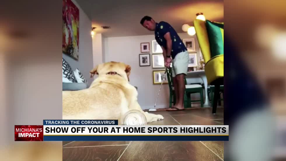 Submit your video for the 'At-Home Highlights Challenge'