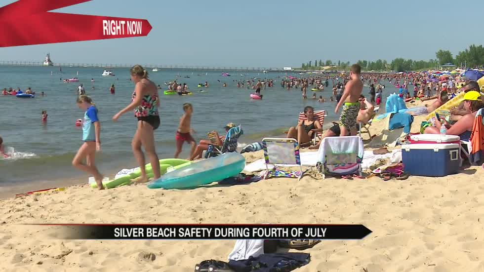 Deputies focus on safety at Silver Beach for July 4th