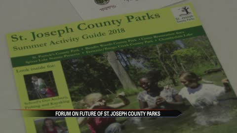 St. Joseph County Parks holds public meeting in hopes to improve parks
