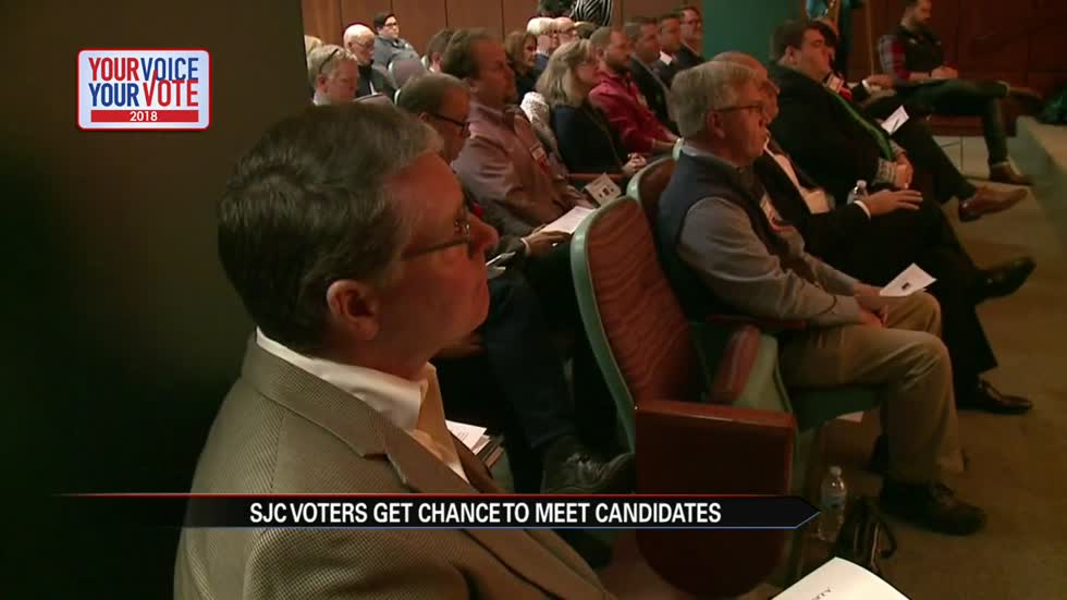 Voters lay out their concerns at 'Meet the Candidates' Thursday