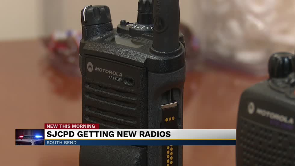 St. Joseph County Police to purchase new radios for officers