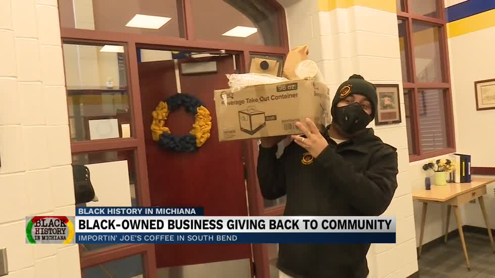 South Bend Business owner makes 'Coffee with Compassion'...