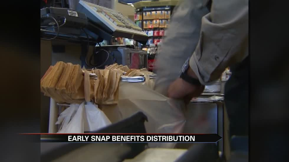 USDA granting February SNAP benefits early