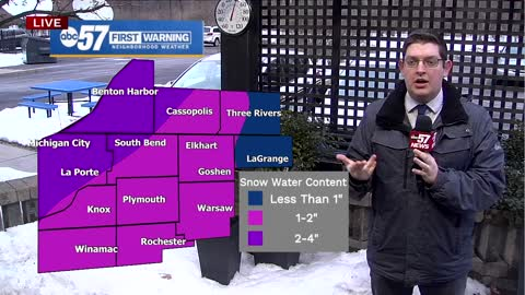 Snowpack rapidly shrinking across Michiana