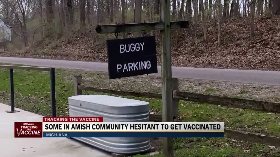 Some in Amish community hesitant to get vaccinated