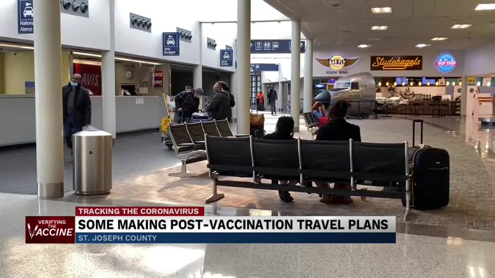 Some making travel plans post-vaccination