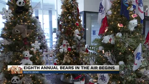 "South Bend Airport kicks off annual ""Bears in the Air"" program"