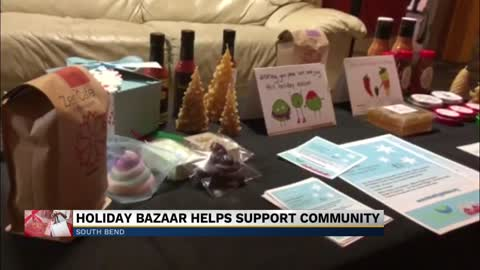South Bend bazaar helps local businesses for holiday shopping