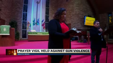 South Bend church holds prayer vigil to take a stand against violence