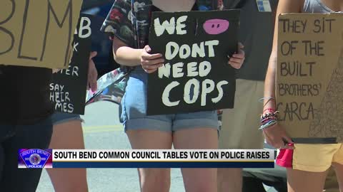Council tables salary increase for South Bend Police