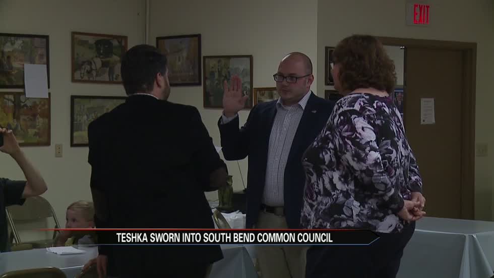 South Bend Common Council welcomes new Republican councilman
