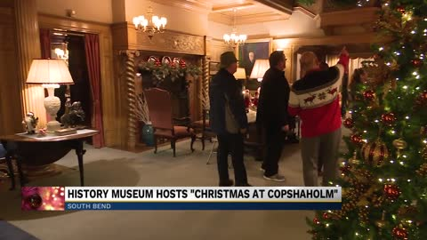 "South Bend community celebrates ""Christmas at Copshaholm"""