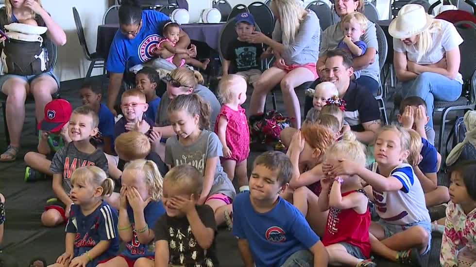 South Bend Cubs host baseball themed Story Time on the Go