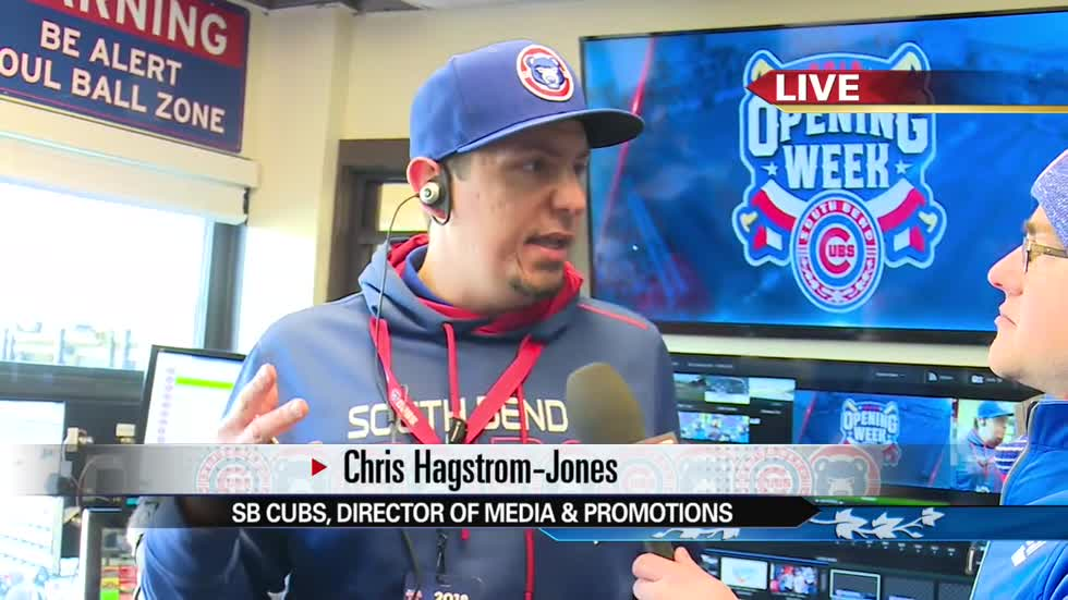 South Bend Cubs Opening Day: Live with Chris Hagstrom-Jones