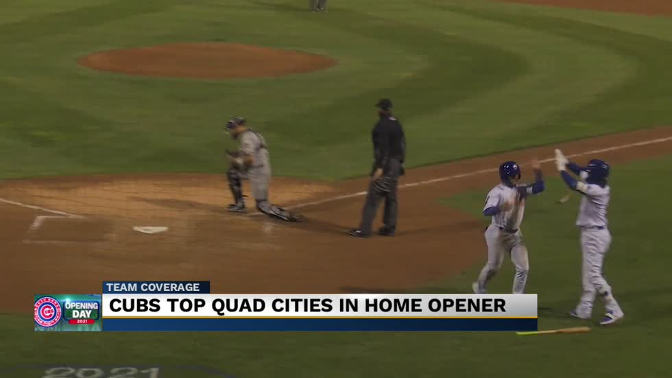 South Bend Cubs win 2021 season opener