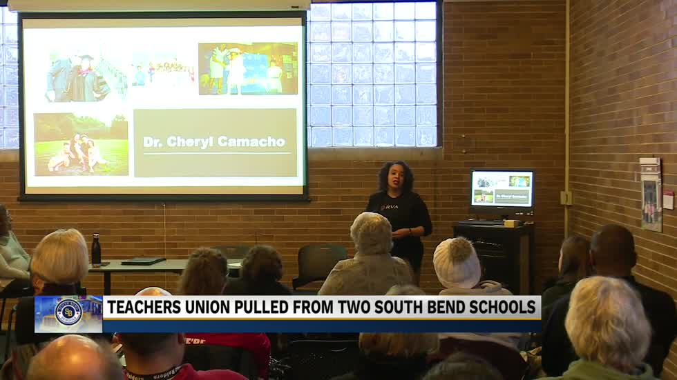 South Bend Empowerment Zone plans to pull teachers' union out of Navarre and Coquillard Schools