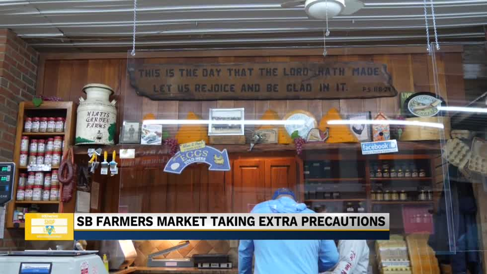 South Bend Farmer's Market remains open for essential items during pandemic