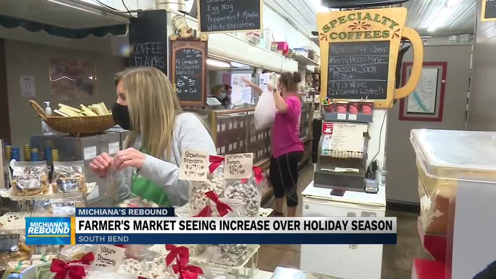 South Bend Farmers Market ready for holiday season surge in customers
