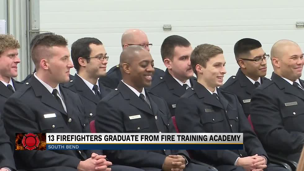 South Bend Fire Department swears in new firefighters