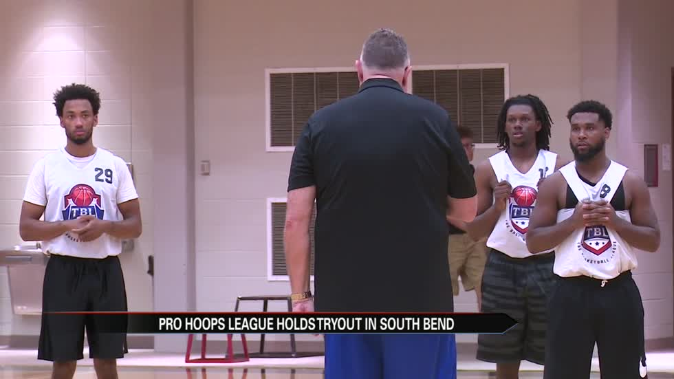 South Bend hoops legend gives local athletes a pro tryout