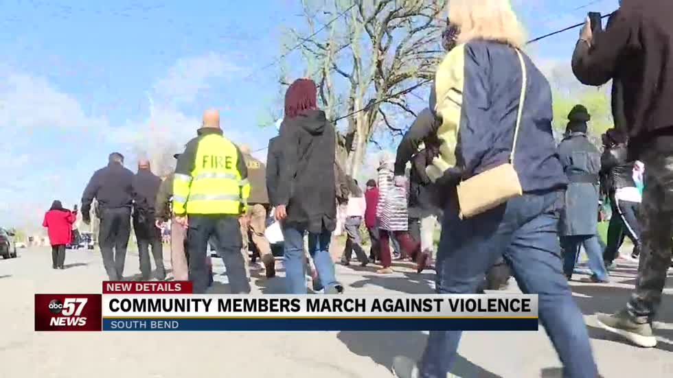 South Bend leaders March Against Violence