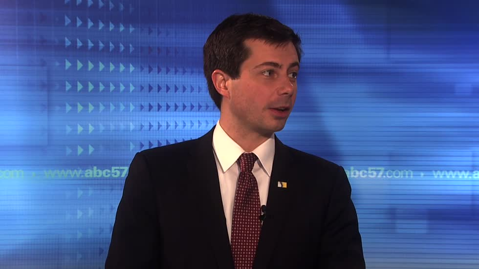 South Bend Mayor Pete Buttigieg talks about decision not to run for third term