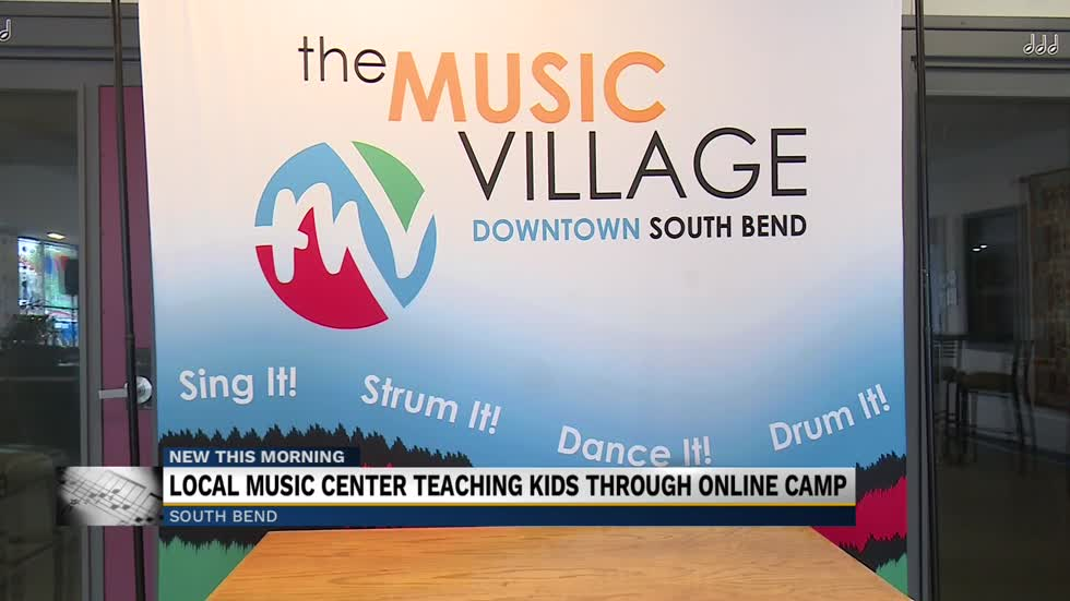 South Bend Music Village teaching kids music virtually