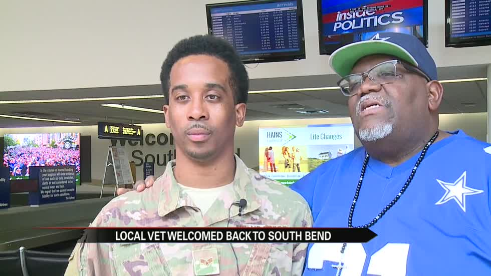 South Bend vet returns home from Africa