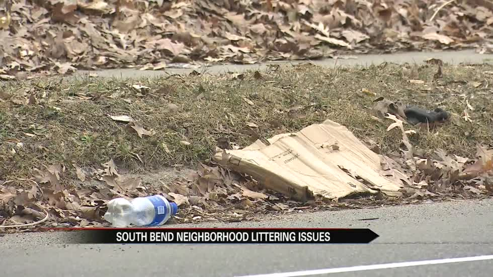 South Bend neighborhood addresses littering issues