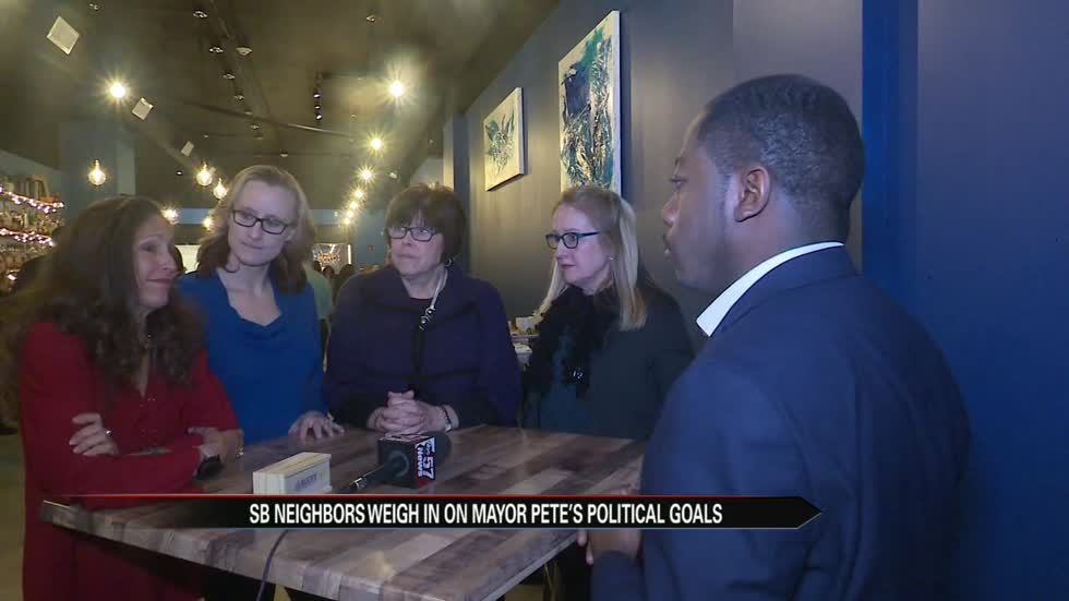 South Bend neighbors weigh-in on Mayor Pete's political goals