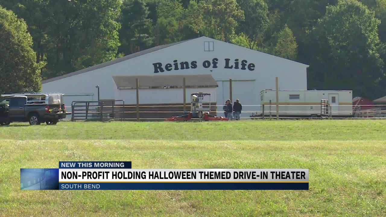 Halloween 2020 South Bend South Bend non profit holding Halloween themed drive in cinema