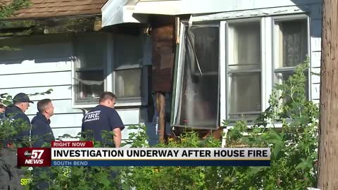 Investigation underway for house fire on Adams Street