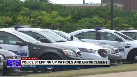 South Bend Police stepping up patrols and enforcement due to...