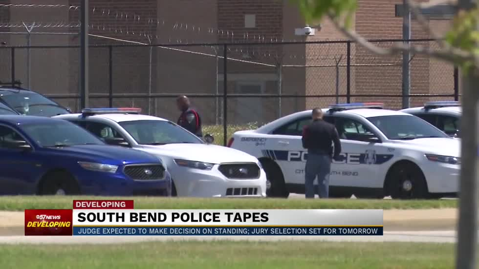 Potential trial for the South Bend 'police tapes' case decided...