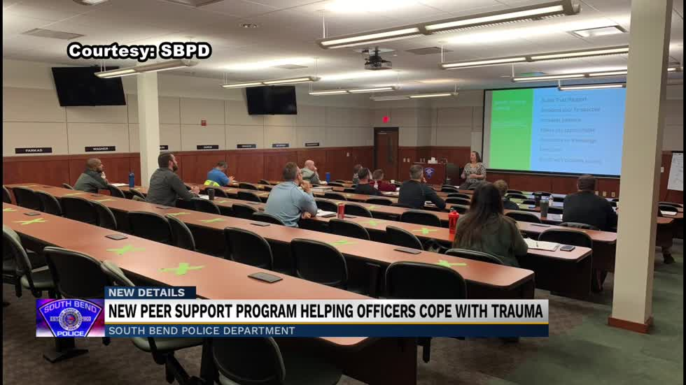 South Bend Police unveils new support team to help officer wellness