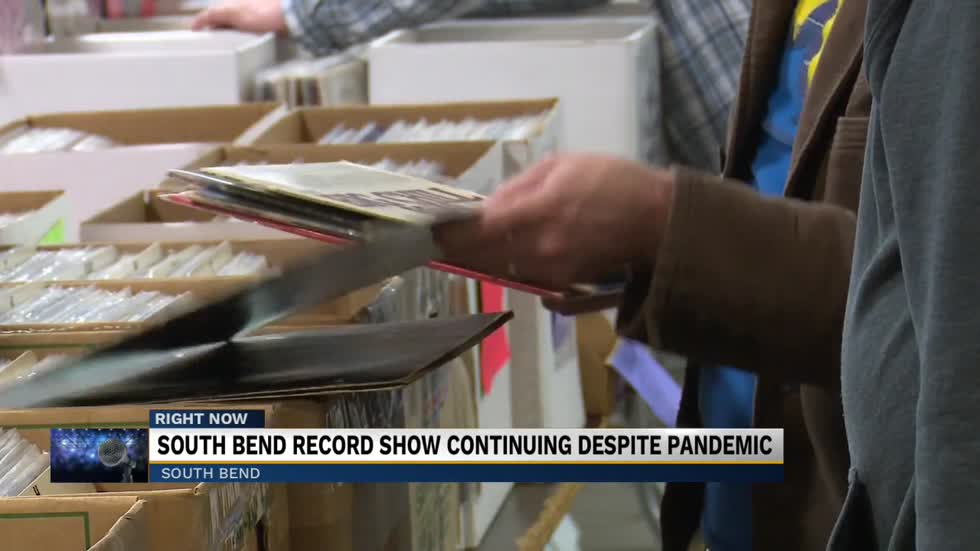 South Bend Record Show back for another year amid pandemic