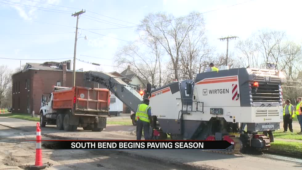 South Bend releases list of roads to be repaved