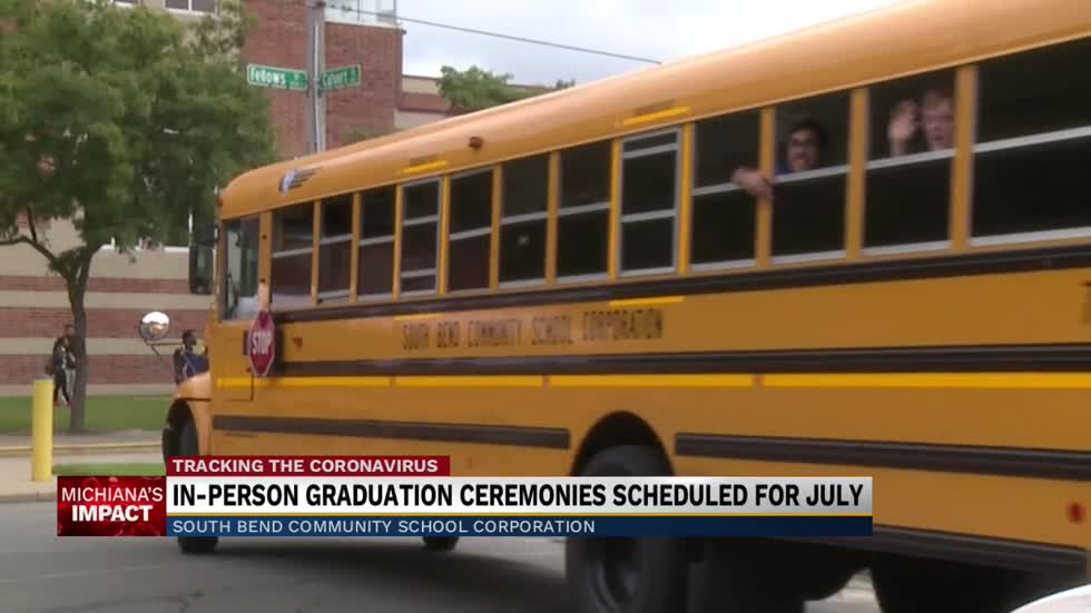 South Bend schools to hold in-person graduation ceremonies